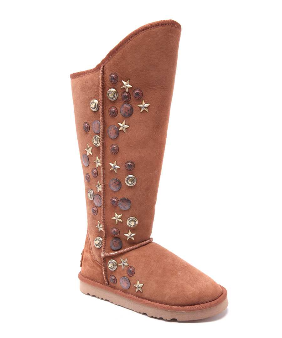 Angel Tal chestnut suede boots Sale - Australia Luxe